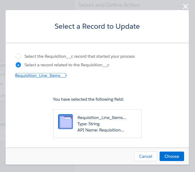 Step 2: Create a Record Update action